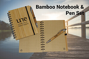 Bamboo Note book and pen - UNE