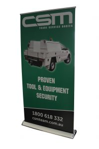 Jewel 1000mm wide Pullup banner