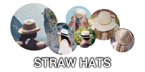 Promotional straw hats